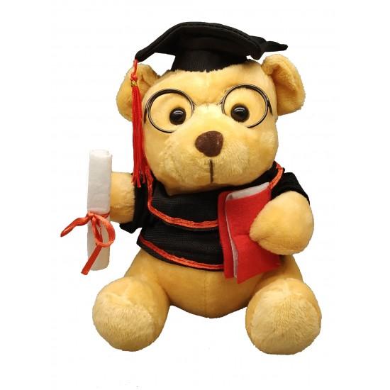 Jucarie ursulet absolvent cu toca